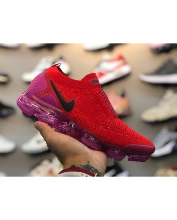 Replica Nike Air Vapor Max Flyknit 3.0 Red Shoes