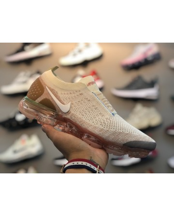 Nike Air Vapor Max Flyknit 3.0 Beige Running Shoes