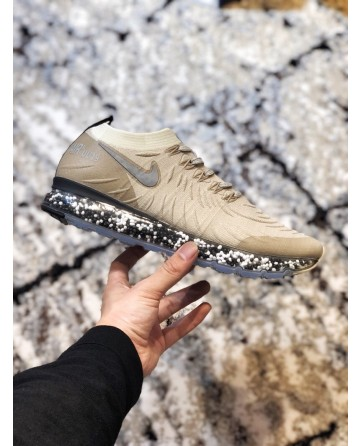Nike Air Max Cushion Beige Jogging Shoes