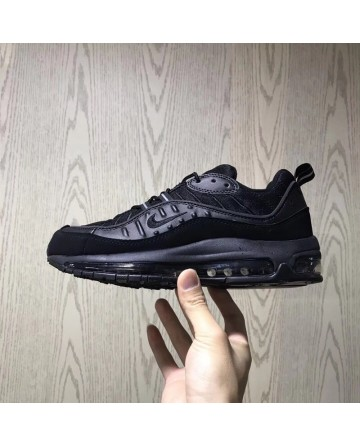 Nike Air Max 98 Retro Black Casual Running Shoes