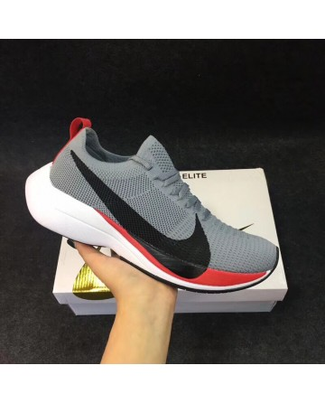 Replica High Quality Nike Flyknit Grey Running Shoes
