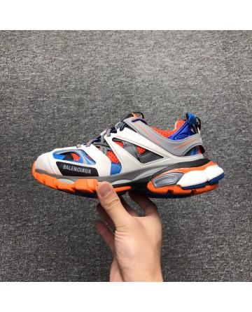 87877c2b38cd Replica Balenciaga Sneaker Tess.s.Gomma Orange Blue Shoes