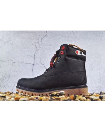 Champion High Cut Black Boots
