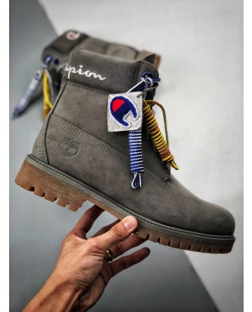 Replica Champion High Cut Grey Boots