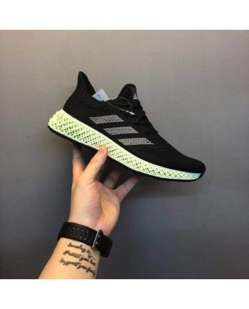 Replica Adidas 4D LTD Technology Black Running Shoes