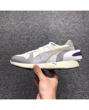 PUMA Air Boost Retro Sliver&White Running Shoes