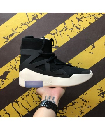Replica Nike High Cut AIr Cushion Black Basketball Shoes