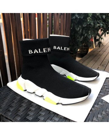 Replica Balenciaga Black Sock Shoes For Sale