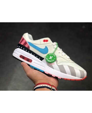 Nike Air Max 1 White Multi Shoes