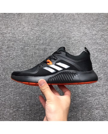 Replica Adidas Bounce Black&Red Running Shoes