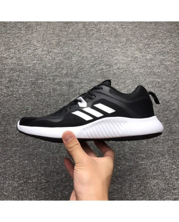 Replica Adidas Bounce Black&White Running Shoes