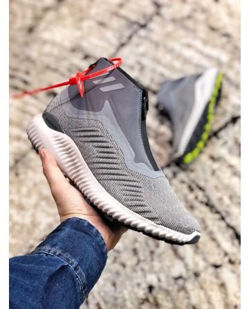 Replica Adidas Alpha Bounce Zip Light Grey Shoes