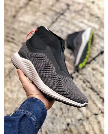 Adidas Alpha Bounce Zip Dark Grey Shoes