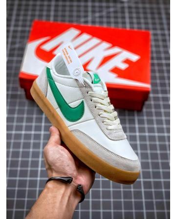 J Crew x Nike Killshot 2 Leather Shoes Green Swoosh Logo