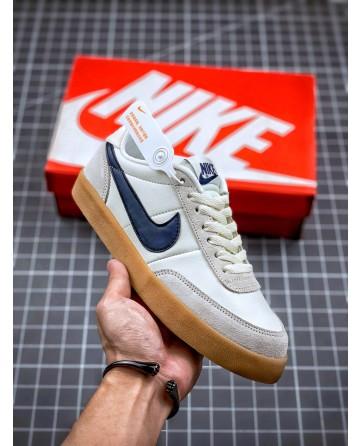 J Crew x Nike Killshot II Leather Shoes Blue Logo Low Shoes