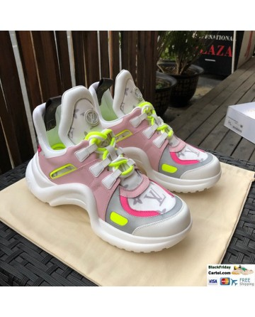 Louis Vuitton Archlight Sneaker 'Pink Yellow'
