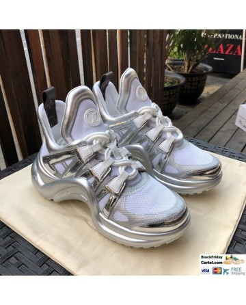 Louis Vuitton Archlight Trainer Silver White