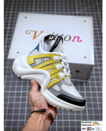 Louis Vuitton Archlight Yellow & White Sneakers