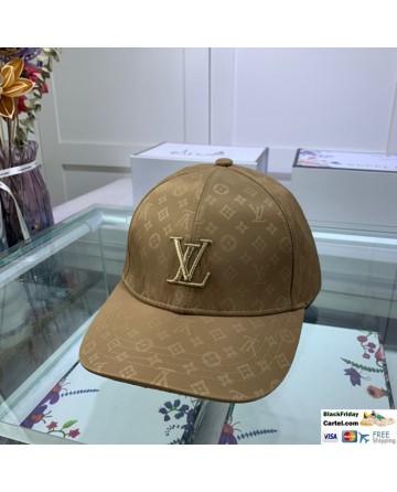 Louis Vuitton Baseball Hat With LV Logo