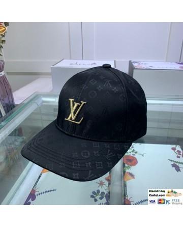 Louis Vuitton Black Baseball Cap For Men and Women