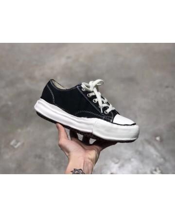 Maison Mihara Yasuhiro x Nigel Cabourn Black low Top Sneaker