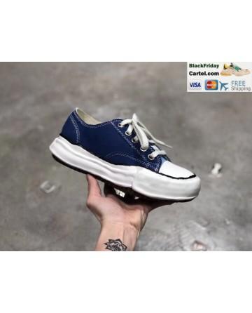 Maison Mihara Yasuhiro x Nigel Cabourn Dark Blue low Top Sneaker