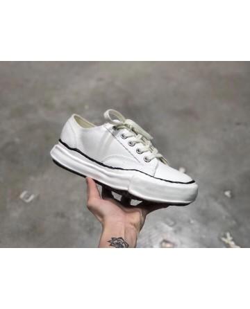 Maison Mihara Yasuhiro x Nigel Cabourn White low Top Sneaker
