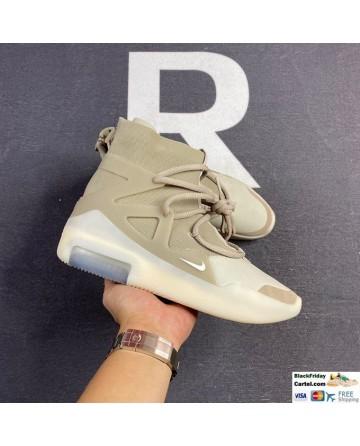 Men Nike Air Fear of God 1 Beige Sneakers