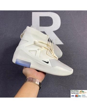 Men Nike Air Fear Of God 1 'Light Bone' Shoes