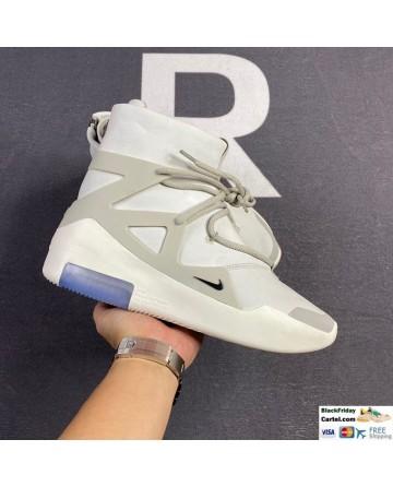 Men Nike Air Fear of God 1 Triple White