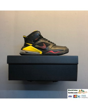 Men's Nike Air Jordan Mars 270 Basketball Shoes Black & Yellow