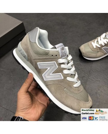 New Balance 574 Classic Olive Running Shoes
