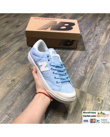 New Balance Pro Court Canvas Casual Shoes Blue