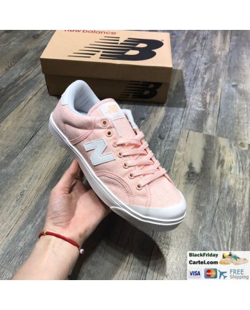 New Balance Pro Court Canvas Casual Shoes Pink