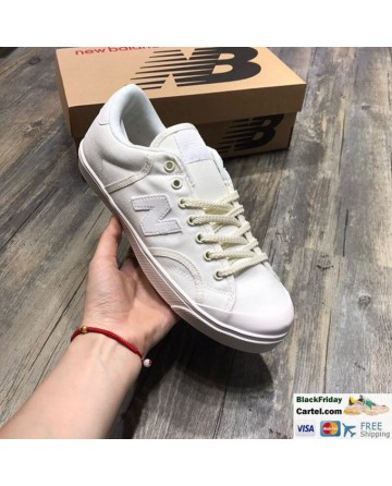 New Balance Pro Court Canvas Casual Shoes White