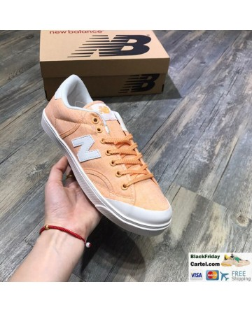 New Balance Pro Court Orange Canvas Casual Shoes