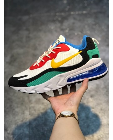 New Nike Air Max 270 Reacet Running Shoes With Mixed Color