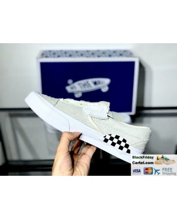 New Vans Slip-On Shoes Cap LX White Sneakers