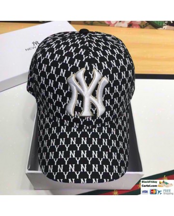 New York Yankees Baseball Cap With Full NY Markers