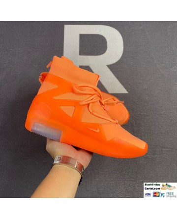 Nike Air Fear of God 1 Orange Shoes