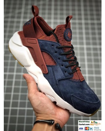Nike Air Huarache Ultra Run Brown & Dark Blue