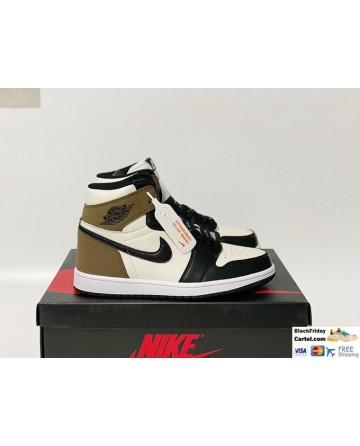 Nike Air Jordan 1 Retro High Black Mocha Shoes