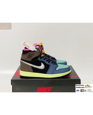 Nike Air Jordan 1 Retro High OG Shoes Bio Hack Shoes