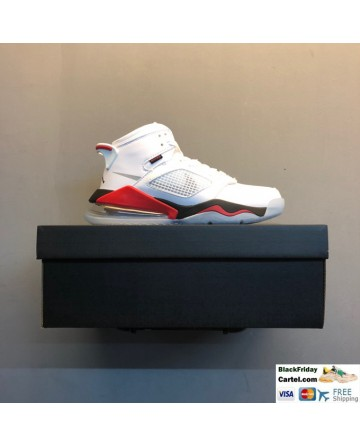 Nike Air Jordan Mars 270 Men's Shoes White & Red