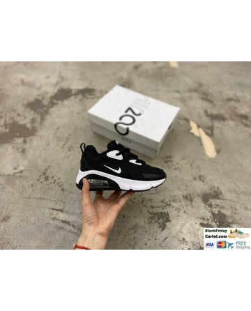 Nike Air Max 200 Childrens Black Trainers