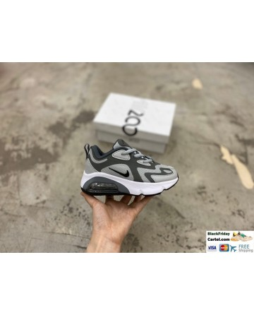 Nike Air Max 200 Childrens Grey Trainers
