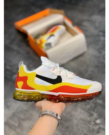 Nike Air Max 270 React Bauhaus 270 V2 Shoes White & Yellow & Red