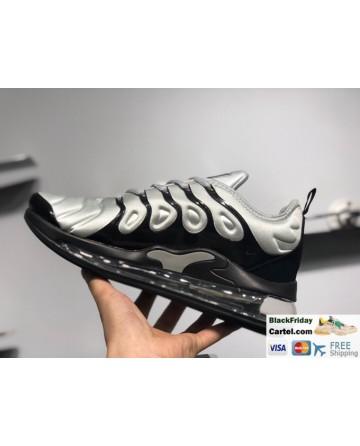 Nike Air Max 720 VM Mens Cushioned Running Shoes Black & Silver