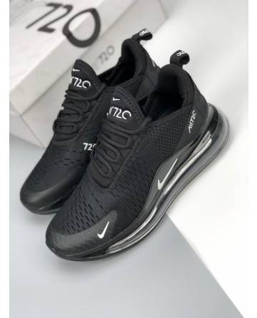 Nike Air Max 720C All Black Men's Sneaker Shoes