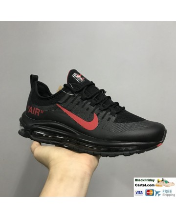 Nike Air Max 98 Axis Men's Casual Running Shoes Black